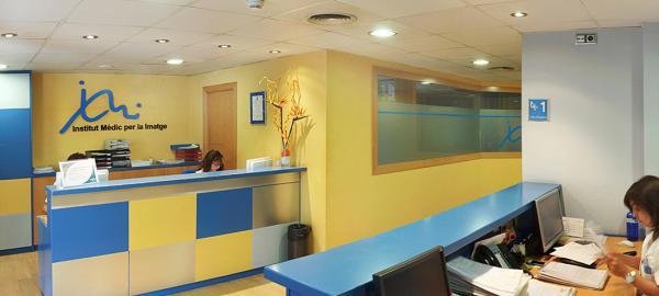 Imatge de la recepció de l'IMI